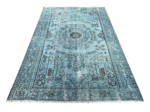 aqua blue rug