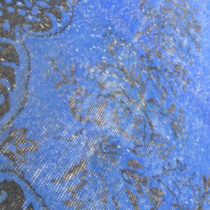 blue overdyed rugs