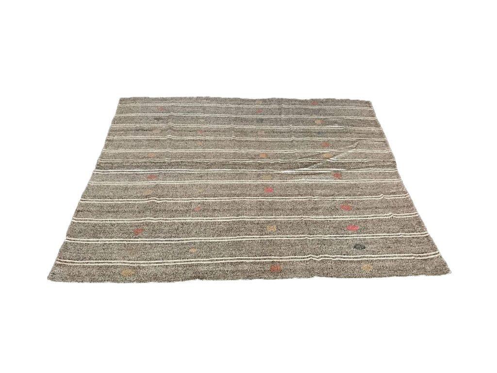 goat hair kilim rug
