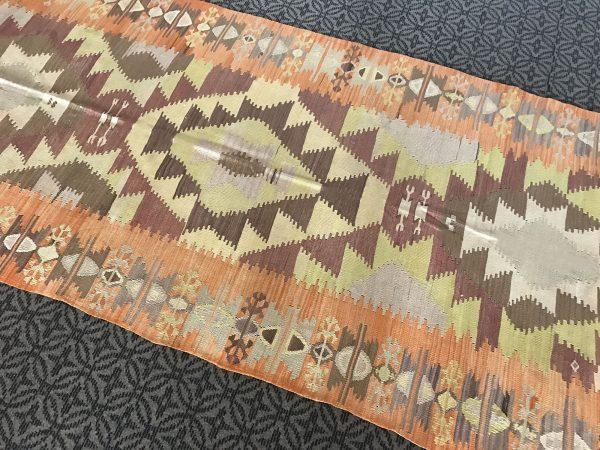 pastel kilim rug