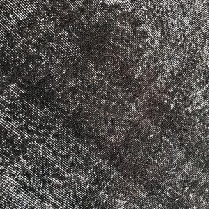 vintage black rug