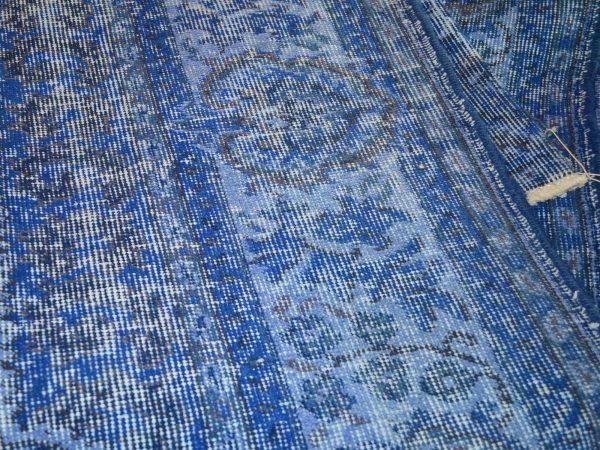 blue turkish rug