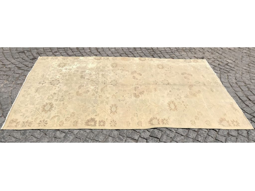 faded oushak rugs