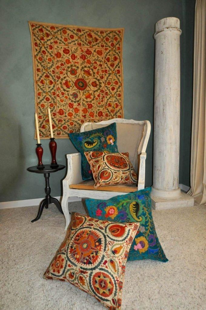 vintage suzani fabrics