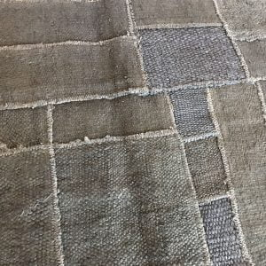 hemp patchwork rug