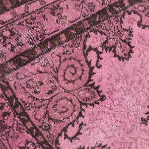 pink turkish rug