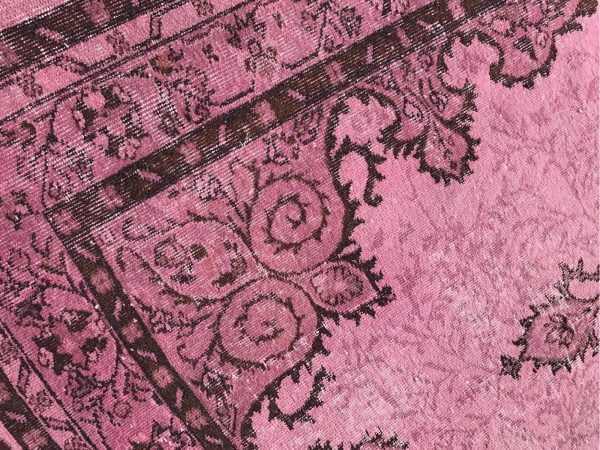 pink turkish rug