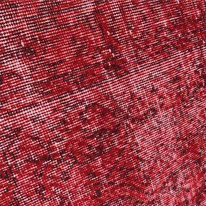 red oushak rug