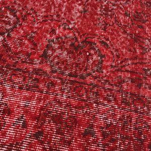 red turkish rug