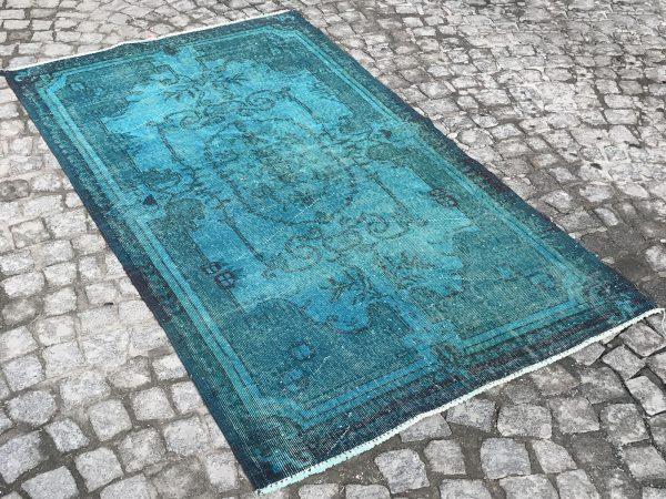 turquoise rug