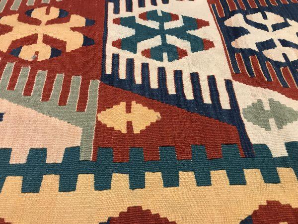 colorful kilim rug