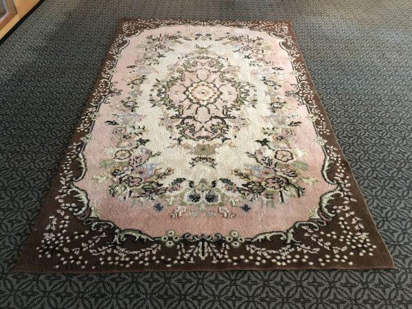 pastel oushak rug