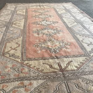 pastel turkish rug