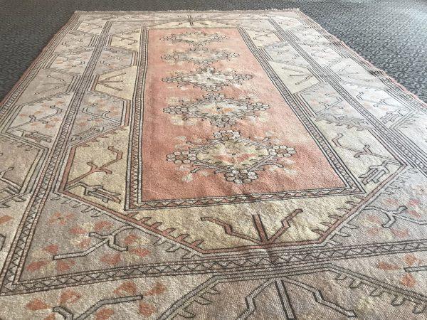 pastel turkish rug