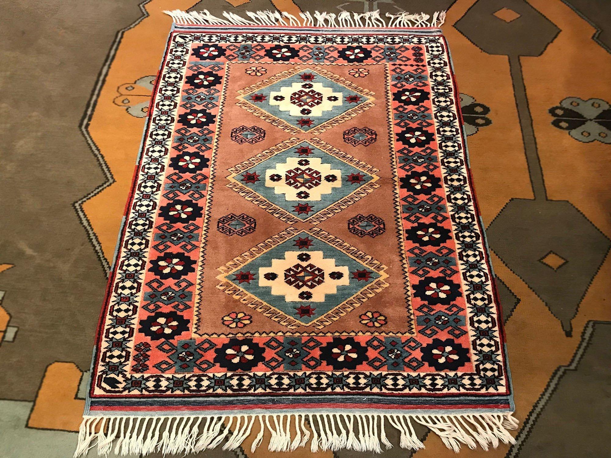 Pastel Muted Oushak Rug Istanbul Carpet