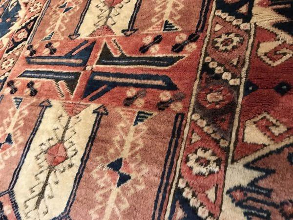 handmade pastel rug