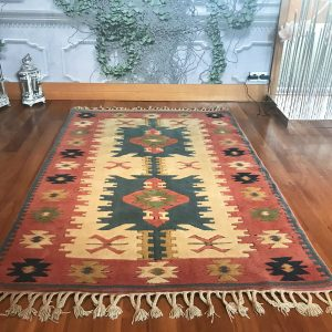 pastel turkish kilim