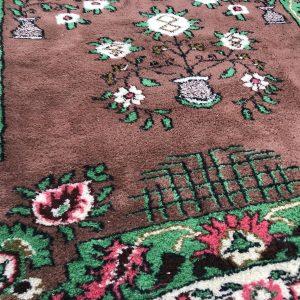 floral oushak rug