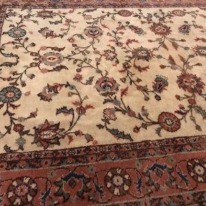 oversized floral rug