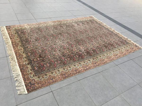 pastel oversized rug