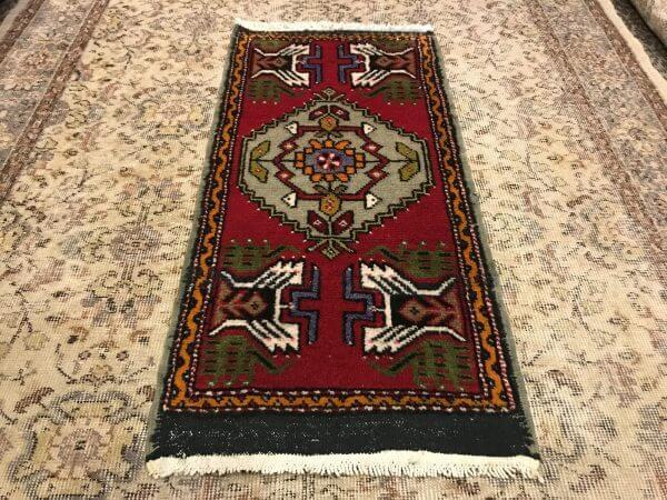 small oushak rug